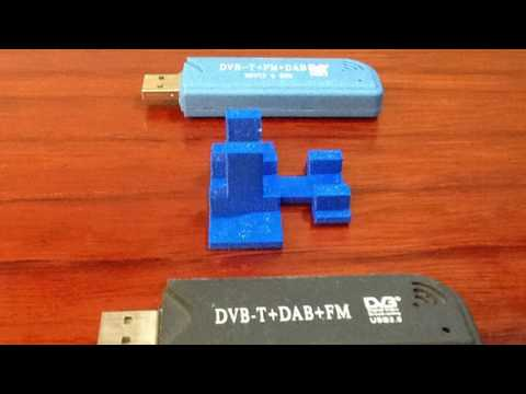 Soporte receptor RTL-SDR