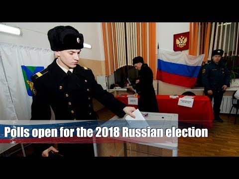 Live: Polls open for the 2018 Russian election  俄罗斯大选投票站的故事
