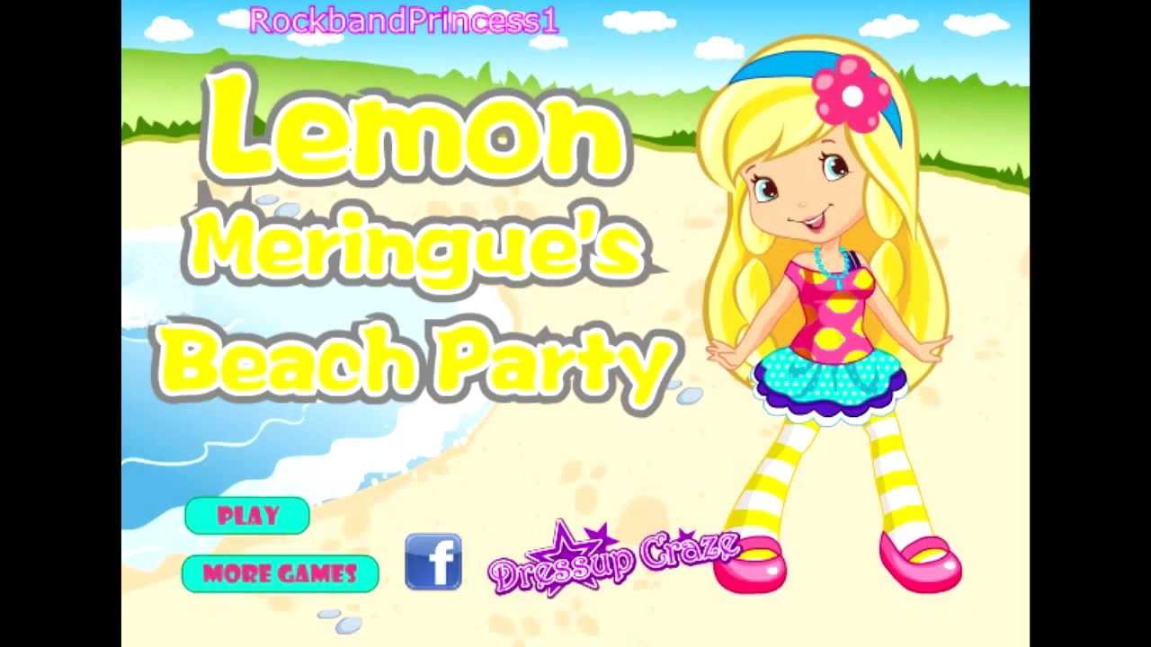 Strawberry Shortcake Online Games Dress Up Game - YouTube