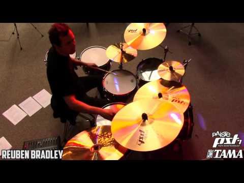 Paiste's Reuben Bradley (NZ) - Drum Clinic