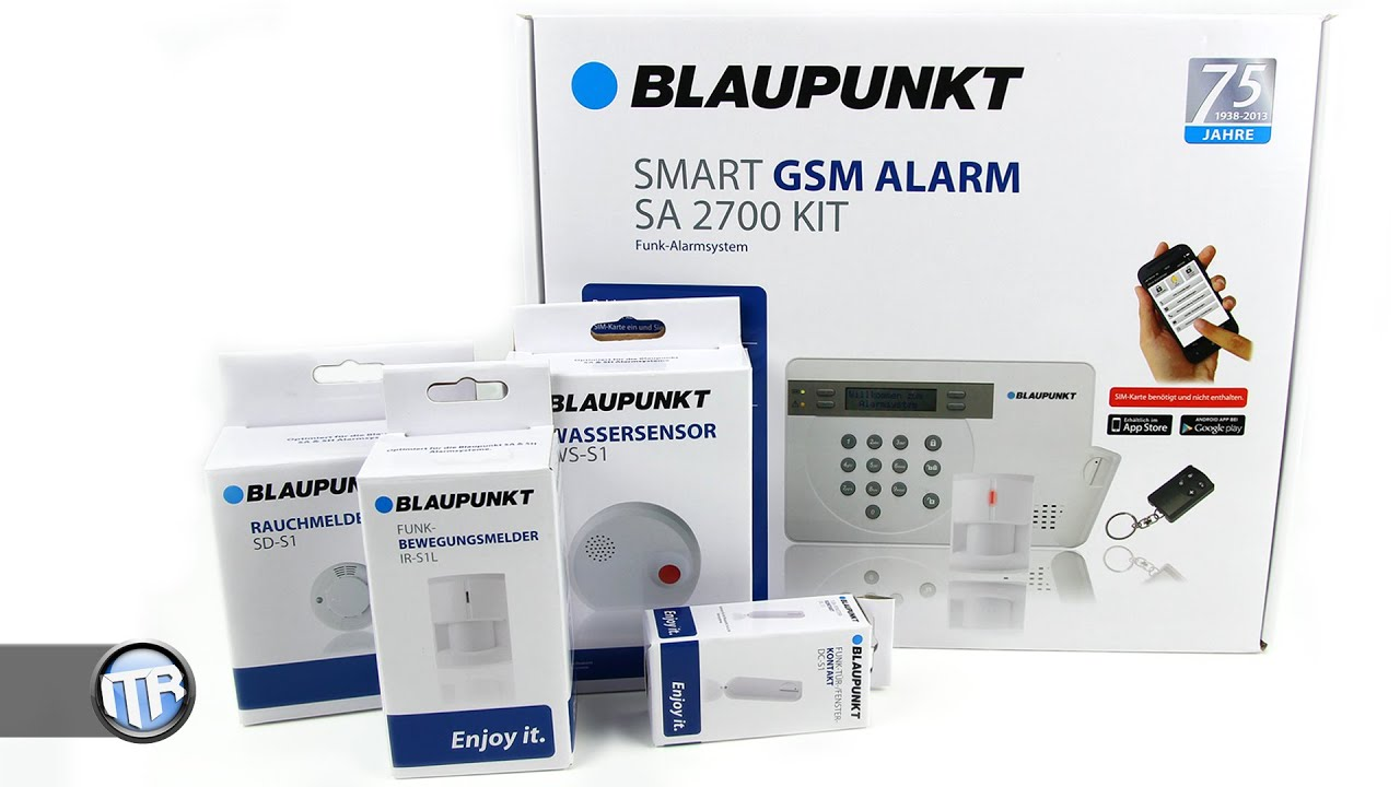 Blaupunkt Alarmanlage Im Test Sa2700 Starterkit Deutsch Youtube