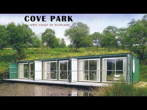 Cove Park: Container Residences- West Coast of Scotland.
