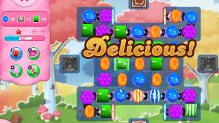 candy crush saga level 1696 (no boosters)
