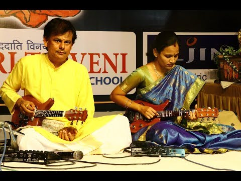 VENKATACHALA NILAYAM || MANDOLIN RAJU & NAGAMANI || BHARATEEYA KALA SAMITHI