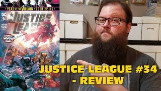 Justice League #34 - Justice/Doom War: Part Five - Review