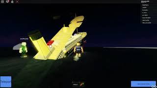 Roblox | Tiny ship sinking #4 Sinking of the titanic V2.0