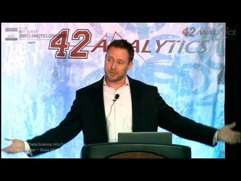 SSAC16: Putting the Data Science into Sport Science