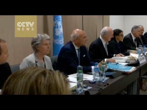 UN Syria envoy hopes Geneva peace talks will resume in May