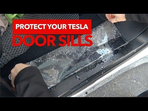 Protect your Tesla door sills