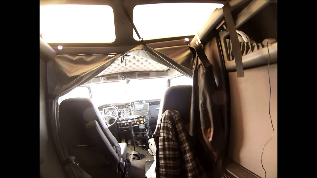 Interior Tour Of A 2012 Kenworth T660 Studio Sleeper Youtube
