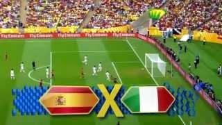 Chamada: Espanha X Itália (Copa das Confederações 2013)