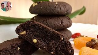 Шоколадное Печенье! Печенье Шоколадное за 5 минут+время на выпечку!