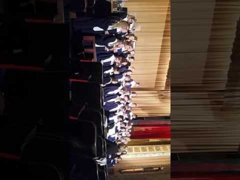 Anaconda high school singing class