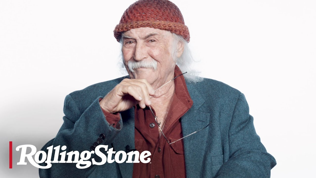 David Crosby Fields Questions About Porn, Hippies and Heroin