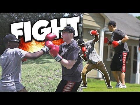 FIGHTING SHARP (THE WARM UP)