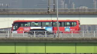 [20210519] 마니교통 1500번 양화대교 통과