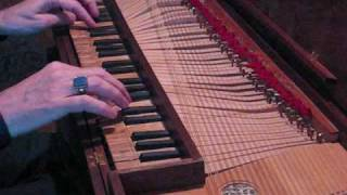 Ryan Layne Whitney (Bach: Invention No. 6 in E major, on clavichord)