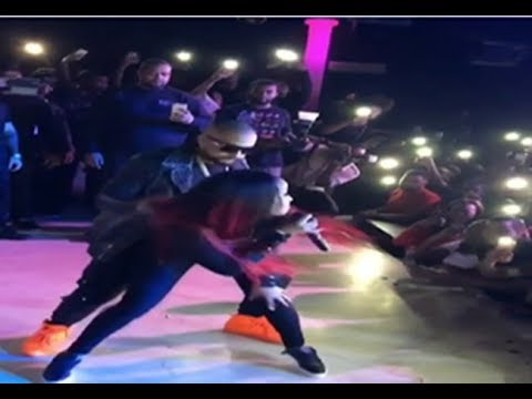 Shenseea Gives Sean Paul A Whine Live Onstage In Paris (November 2017)