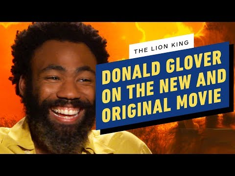 Donald Glover on the New & Original Lion King
