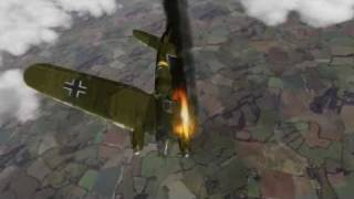 Second World War 2 air fight - Awesome 3D Animation