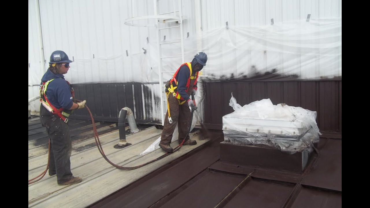 Roof Coating Metal Roof Leaks Liquid Rubber Edmonton