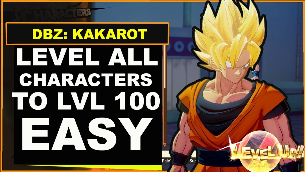 Dragon Ball Z Kakarot - How to Level Up Fast