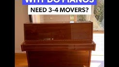 MetroMovers Professional Piano Movers In Action...