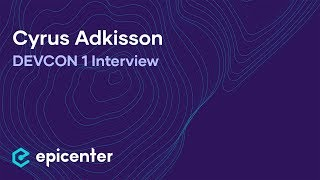 Interview with Cyrus Adkisson of Etheria at DEVCON1 in London