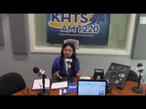 Christina Albert From Charter College - May 18, 2017 - KHTS - Santa Clarita