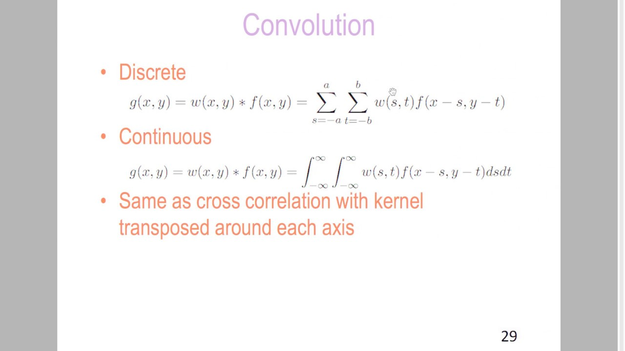 Convolution vs  Cross-Correlation (Autocorrelation) - PRIMO ai