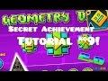 "Geometry Dash   ""The Vault"" Secret Achievement/Code Tutorial #9! (2.0)"