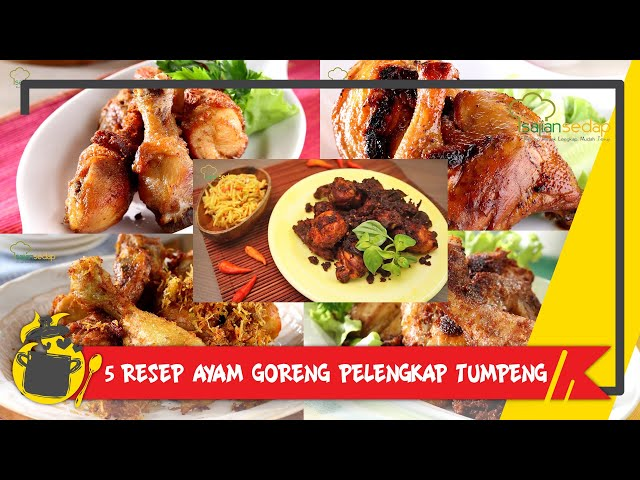 Video 5 Resep Memasak Ayam Goreng Untuk Lauk Tumpeng Patut Dicoba Nih Video