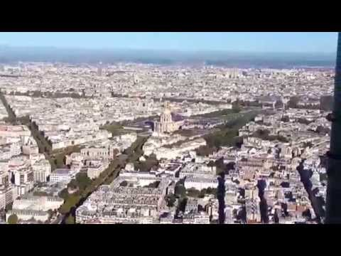 PERFECT PARIS VIEWS Tour Montparnasse Roof Deck  Panorama