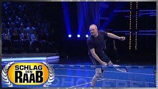 Spiel 2: Tennis - Schlag den Raab