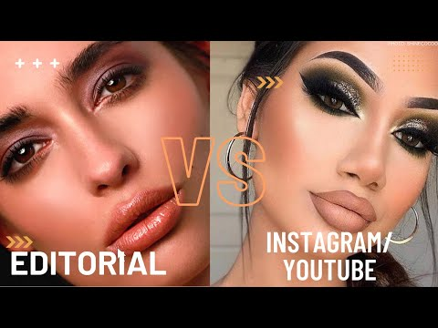 WHAT'S THE DIFFERENCE? Editorial Makeup Artists vs Youtube Guru, and Instagram Artists?