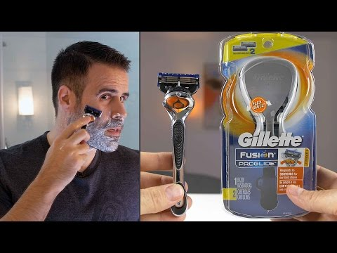 What it's Like to Shave With Gillette's INSANE 5-Blade Proglide Razor!