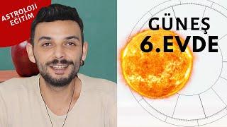 Güneş 6. Evde (Burçlarda): Kariyer ve Karakter | Kenan Yasin ile Astroloji