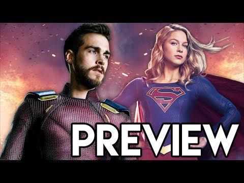 Supergirl Mon-El Red Suit POSTER &...
