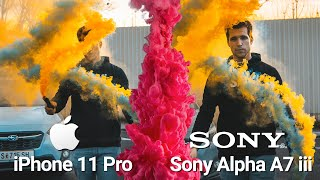 Apple iPhone 11 Pro vs 5000$ Sony A7 III Professional Camera Test!