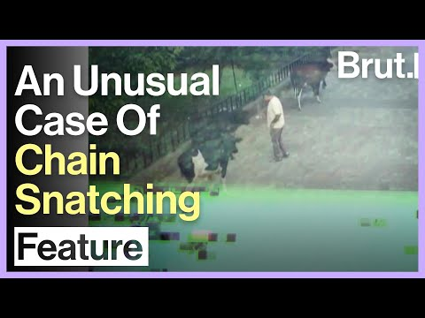 An Unusual Case Of Chain Snatching
