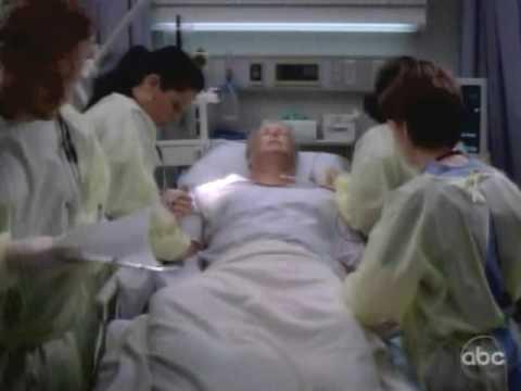 Grey's 6x06 - Cristina (aka Ms. Badass) Whacking Guy On Chest