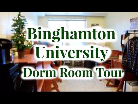 Binghamton University Dorm Room Newing Tour Holiday