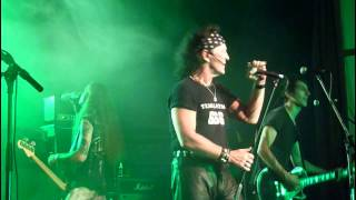 "Dave Evans ""Highway To Hell"" live at S.O.S. Fest. 2013."