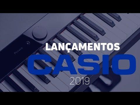 Os NOVOS PIANOS da Casio  s 2019