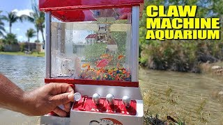 WORLD'S FIRST! Claw Machin…