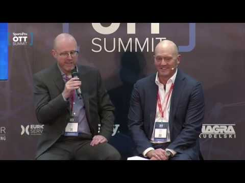 Mark Mulready at SportsPro OTT Summit 2019
