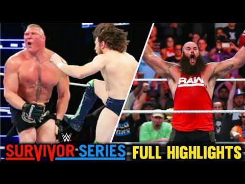 WWE Survivor Series 18 Nov 2018 Highlights ! Full Live Results & Winners letöltés