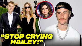 Justin Bieber Speaks On Selena Gomez's Fans Trolling Hailey Bieber At The Met Gala