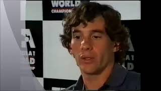 "Ayrton Senna's famous interview with Sir Jackie Stewart - ""designed to win"""