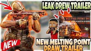 New Upcoming MELTING POINT DRAW Leak Cod Mobile | cod mobile leaks | New Character/Weapon Skin codm